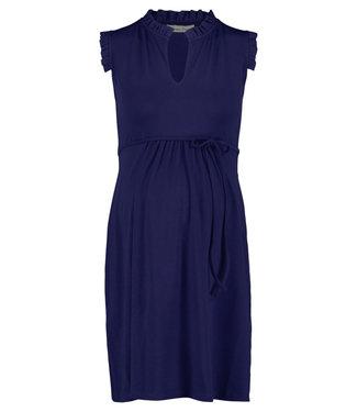 Queen Mum Dress Jersey Dili Sodalite Blue