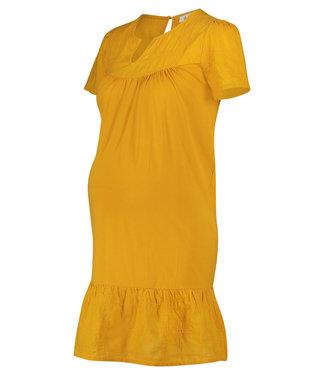Queen Mum Dress Jersey Woven Newyork Sunflower