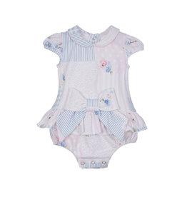 Lapin House Bodysuit Pastel Pink & Blue incl. Gift Box