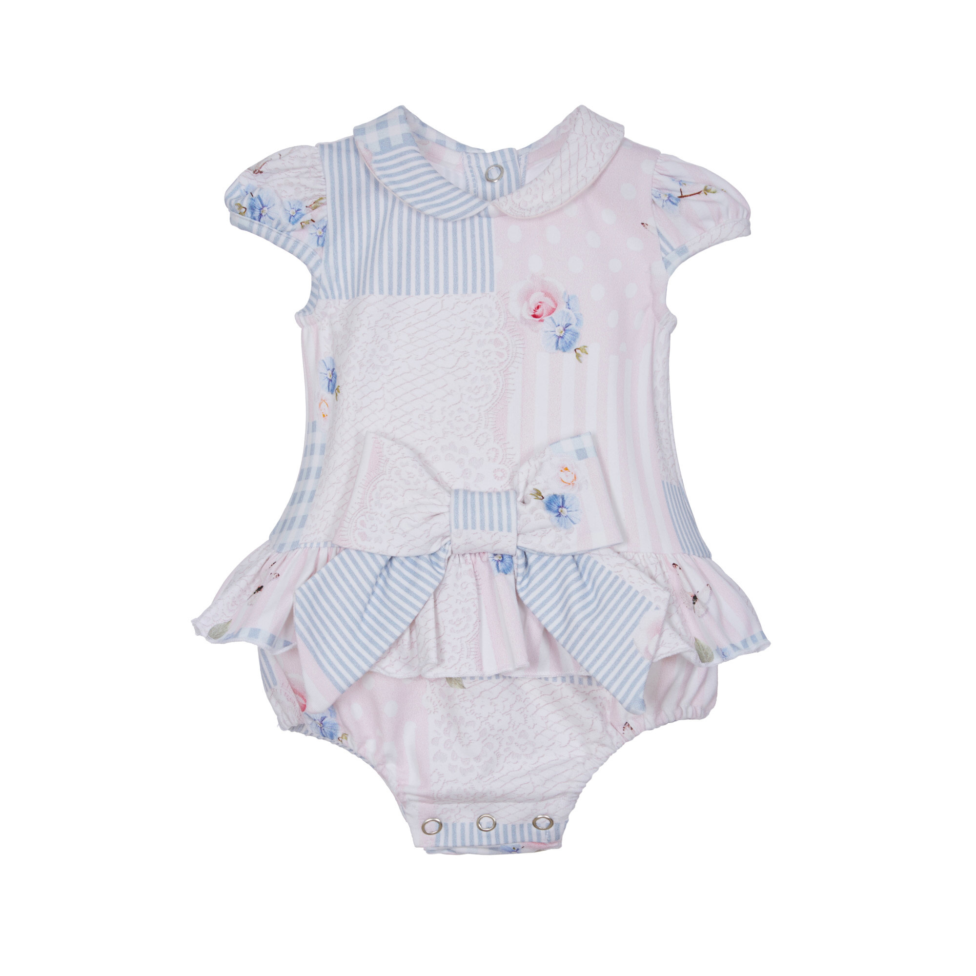 Lapin House Bodysuit Pastel Pink & Blue incl. Gift Box