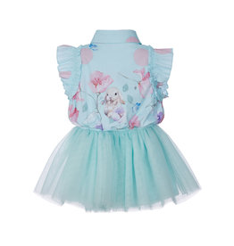 Lapin House Dress 2 Pieces Bunny Mint Tule