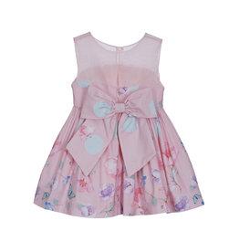 Lapin House Dress Pink Mint Flowers