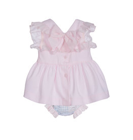 Lapin House Dress Pink Bunny & Bloomer incl. Gift Box