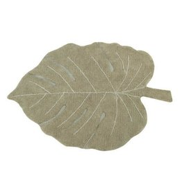 Lorena Canals Mat Monstera Olive 120 x 180 cm