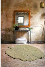 Lorena Canals Mat Monstera Olive 120 x 180 cm