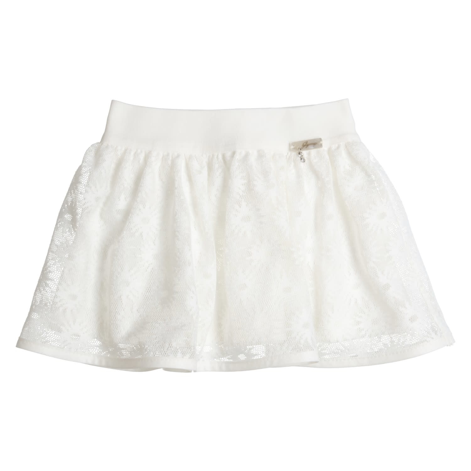 Gymp Skirt Off-White Lace