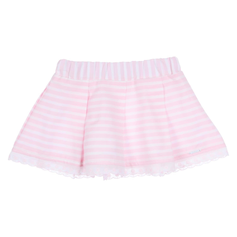 Gymp Skirt White/Pink Stripes