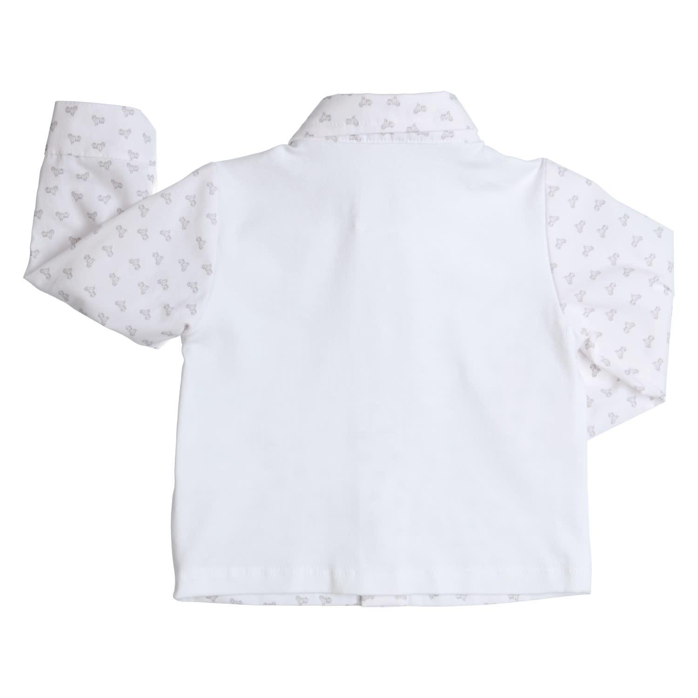 Gymp Shirt White L/S Little Vespa
