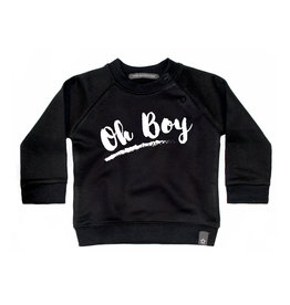 Your Wishes Oh Boy Sweater Black