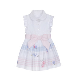 Lapin House Dress Broderie Butterfly