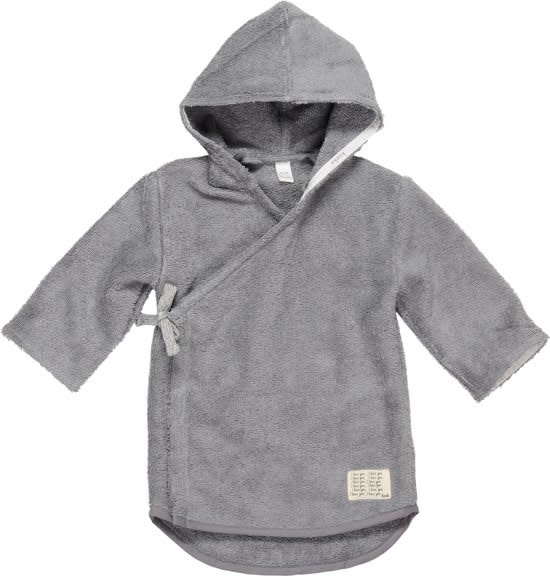 Koeka Dijon Baby Badjas Steel Grey