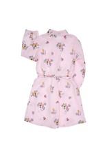Gymp Shirt Dress Pink/Multi