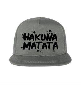 """Kidsloft Own Design Own Design Cap """"Hakuna Matata"""" Khaki"""