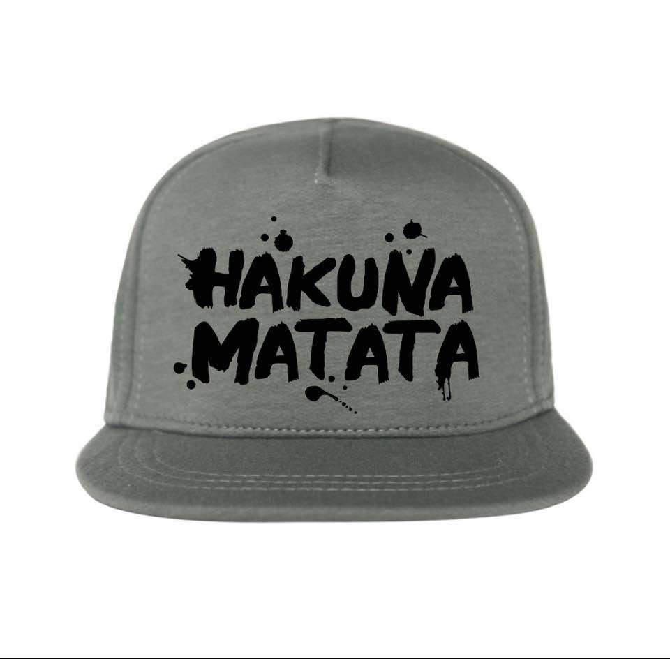 """Own Design Cap """"Hakuna Matata"""" Khaki"""