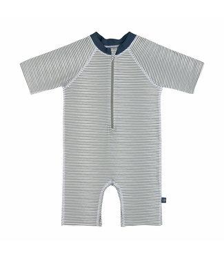 Lassig Sunsuit Short Sleeve Striped Blue