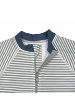 Lassig Sunsuit Short Sleeve Striped Blue