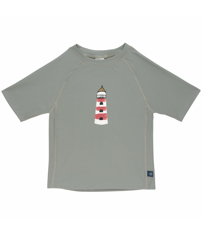 Lassig Rashguard Short Sleeve Lighthouse Khaki
