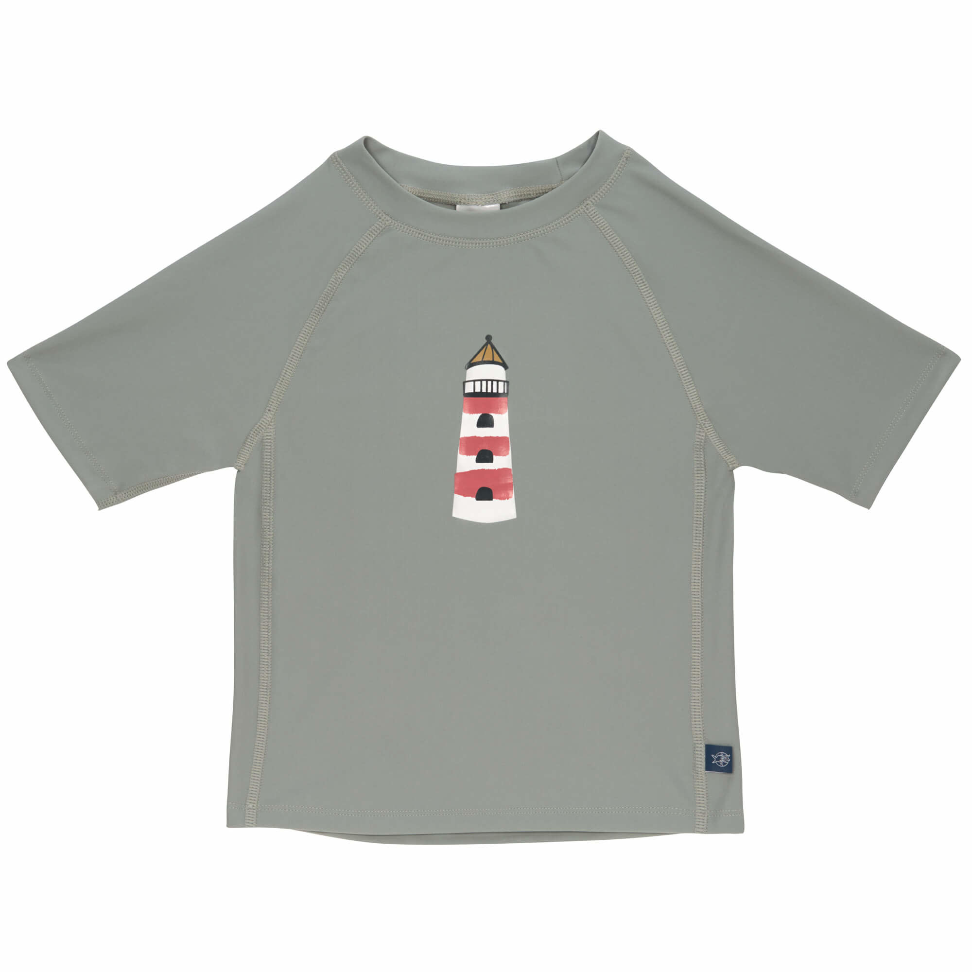Lassig Rashguard Short Sleeve Lighthouse Khaki