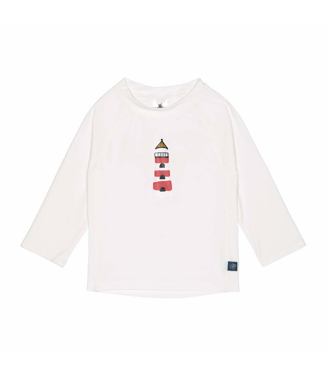 Lassig Rashguard Long Sleeve Lighthouse White