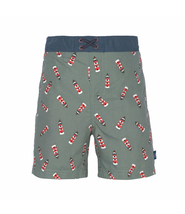 Lassig Board Short Boys Lighthouse Khaki