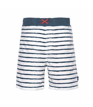 Lassig Board Short Boys Striped Blue