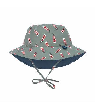 Lassig Sun Protection Bucket Hat Lighthouse Khaki