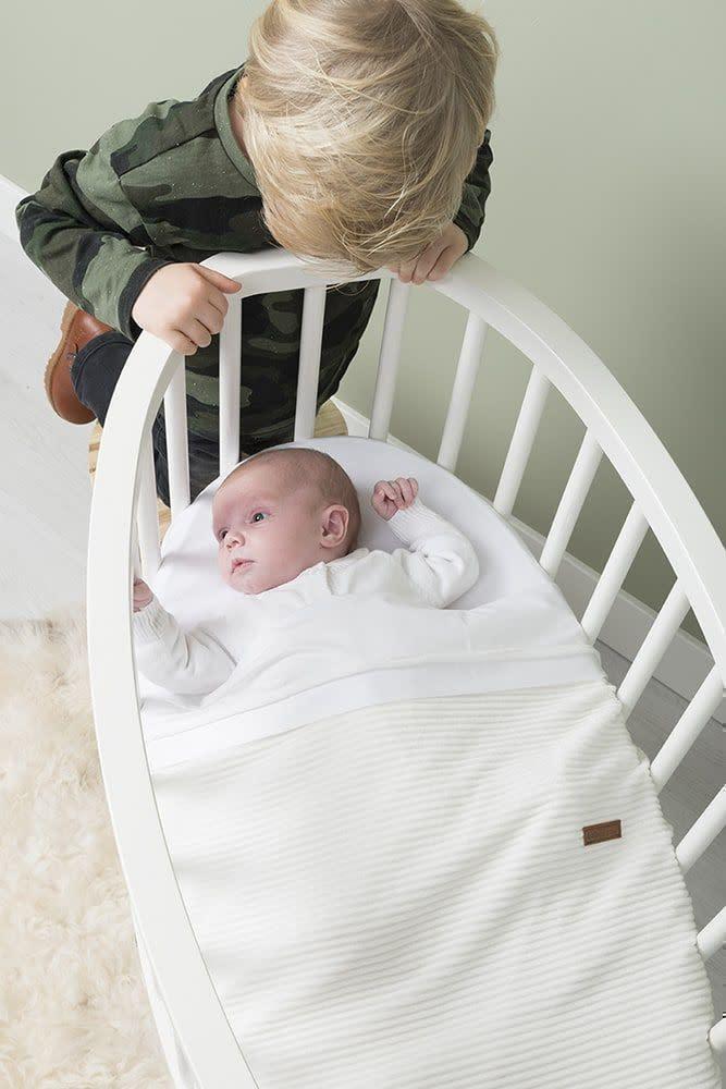 Baby's Only Sense Wiegdeken White Teddy