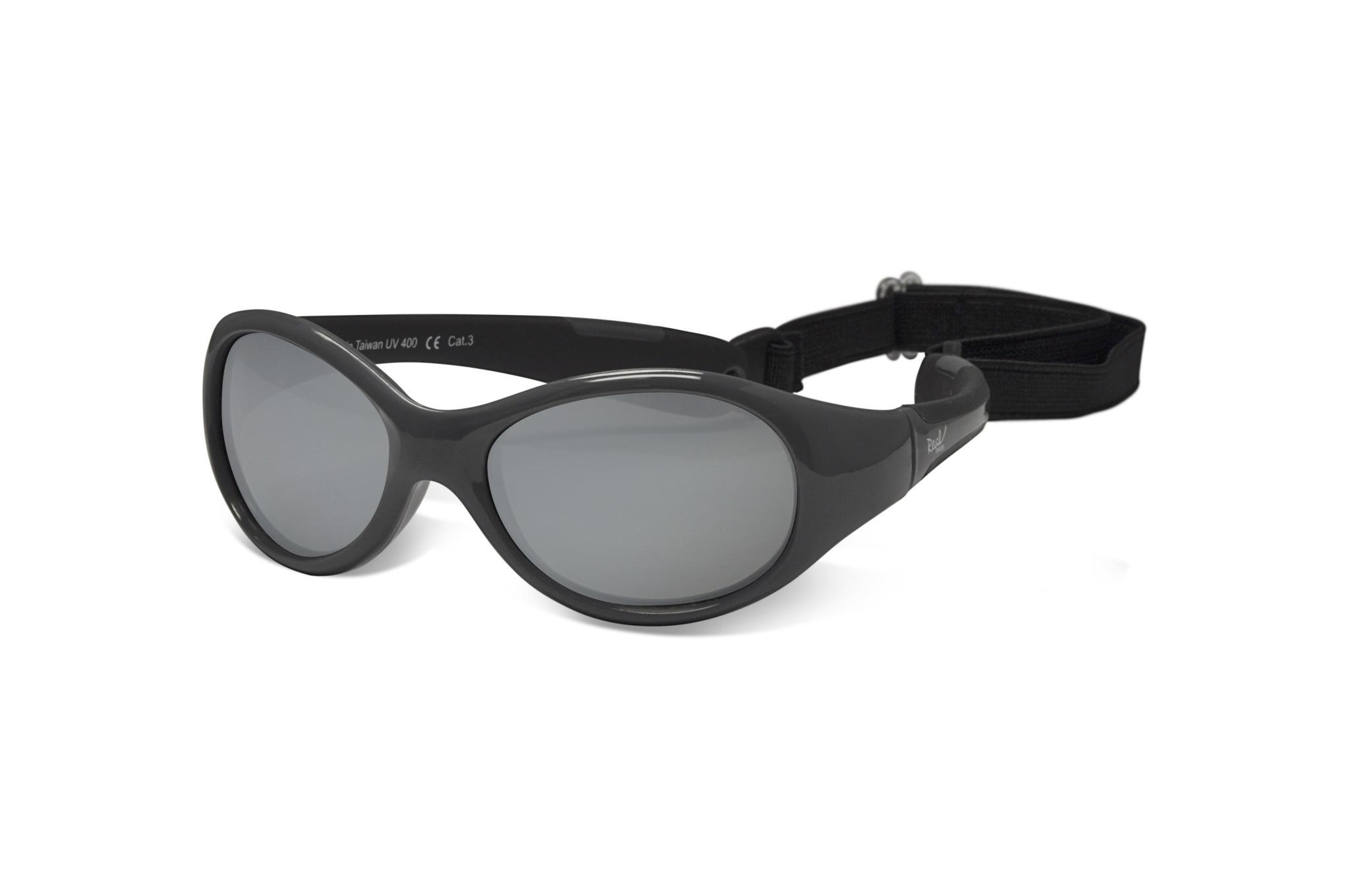Real Shades Xplorer Glasses Graphite Black Size 0+