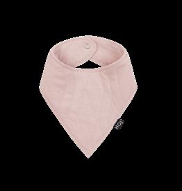 House Of Jamie Burp Bib Geo jacquard Powder Pink