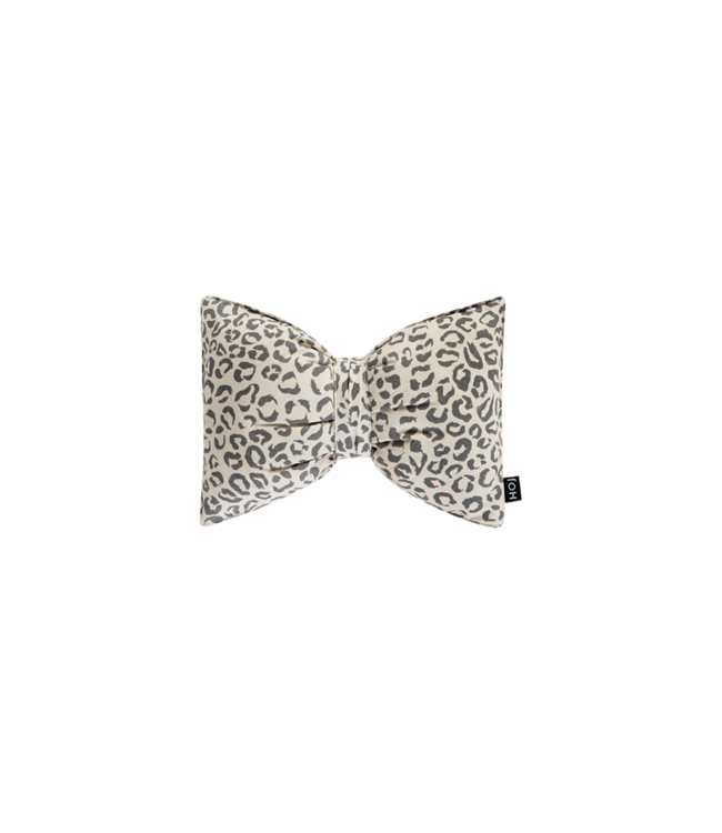 House Of Jamie Crinkle Toy Bowtie Snow Leopard