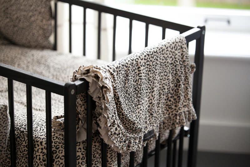 House Of Jamie Blanket Snow Leopard Velvet 100x90cm