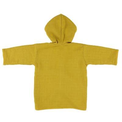 Les Rêves d'Anais Bathrobe 1-2 Year Bliss Mustard