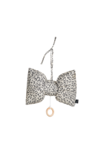 House Of Jamie Music Box Bow Tie Snow Leopard