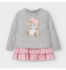 Mayoral Tricot Bear Dress