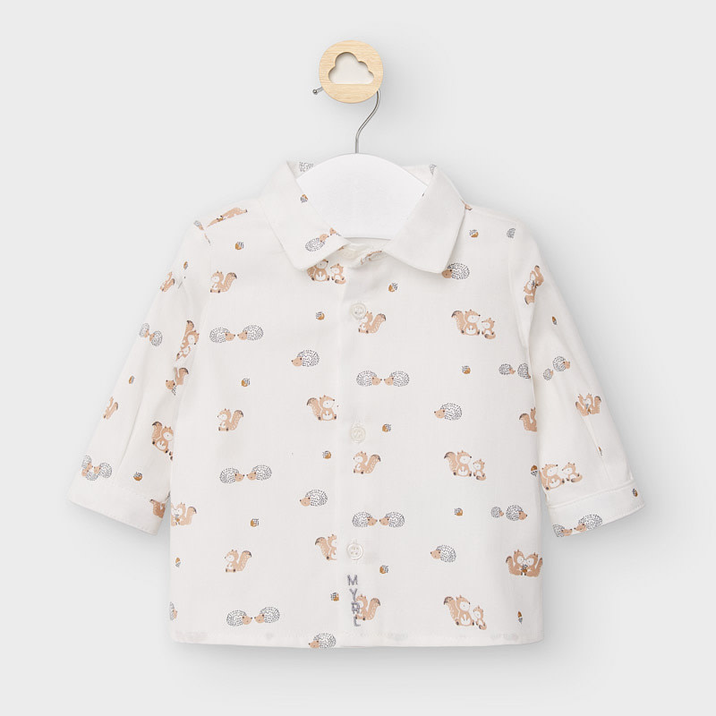 Mayoral Squirrels L/S Shirt