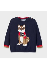 Mayoral Blue Sweater Dog