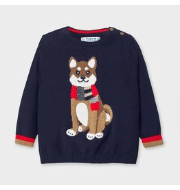 Mayoral Blue Sweater Dog