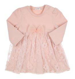 Gymp Dress Jersey Lace Vieux Rose
