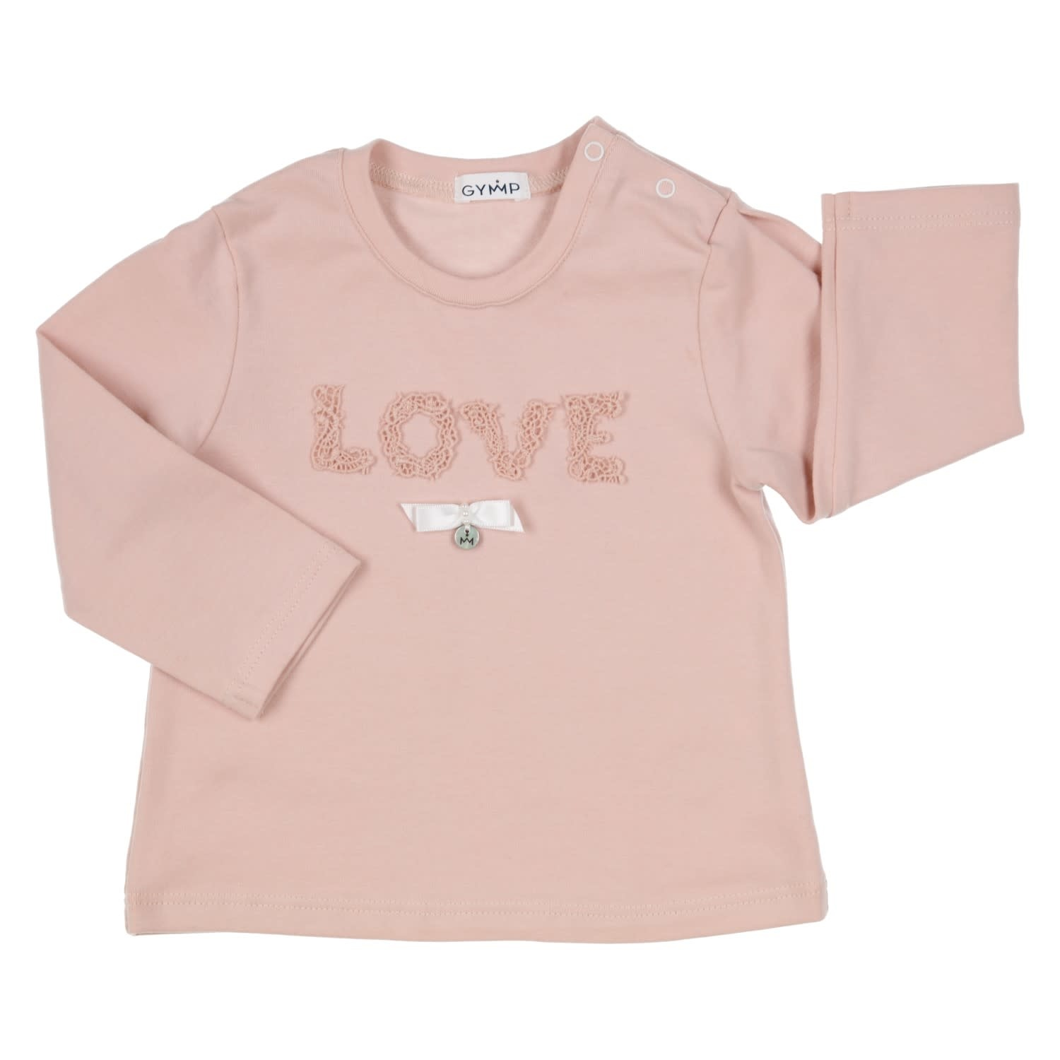 Gymp Love Tee Vieux Rose