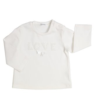Gymp Love Tee Off White