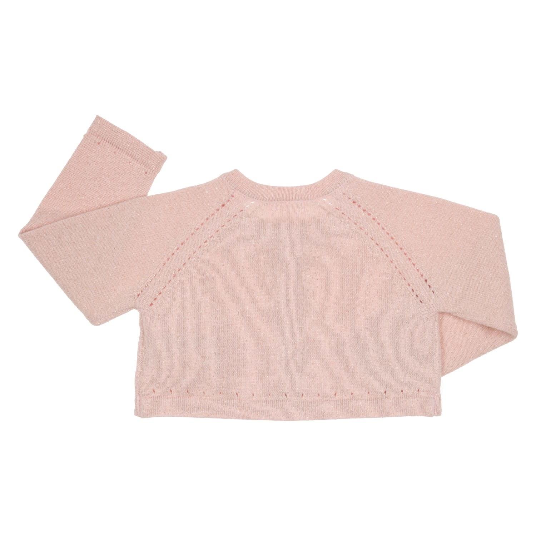 Gymp Sparkle Knit Cardigan Vieux Rose