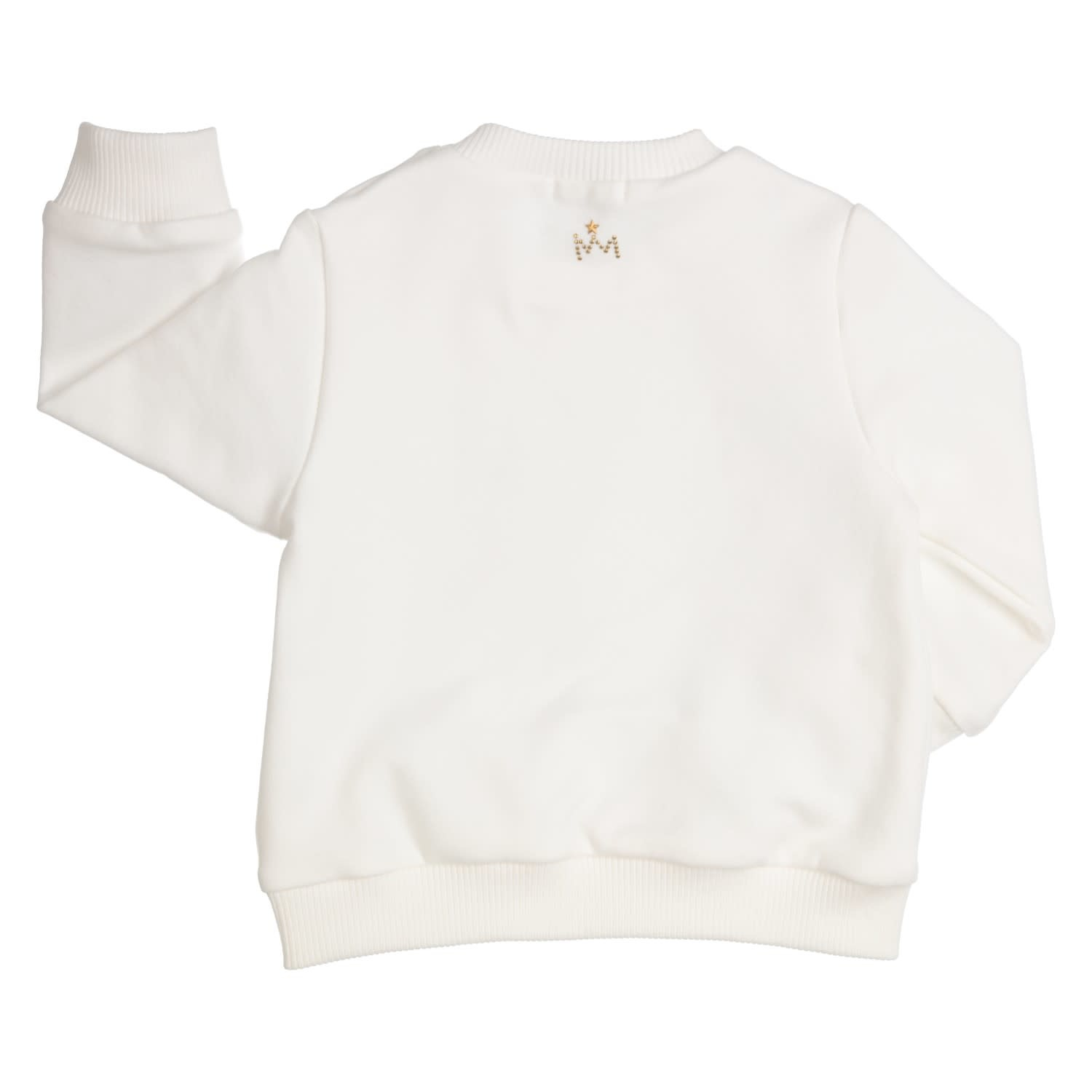 Gymp Sweater Off-White Golden Bow