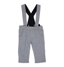 Gymp Jersey Pants With Suspender Grey