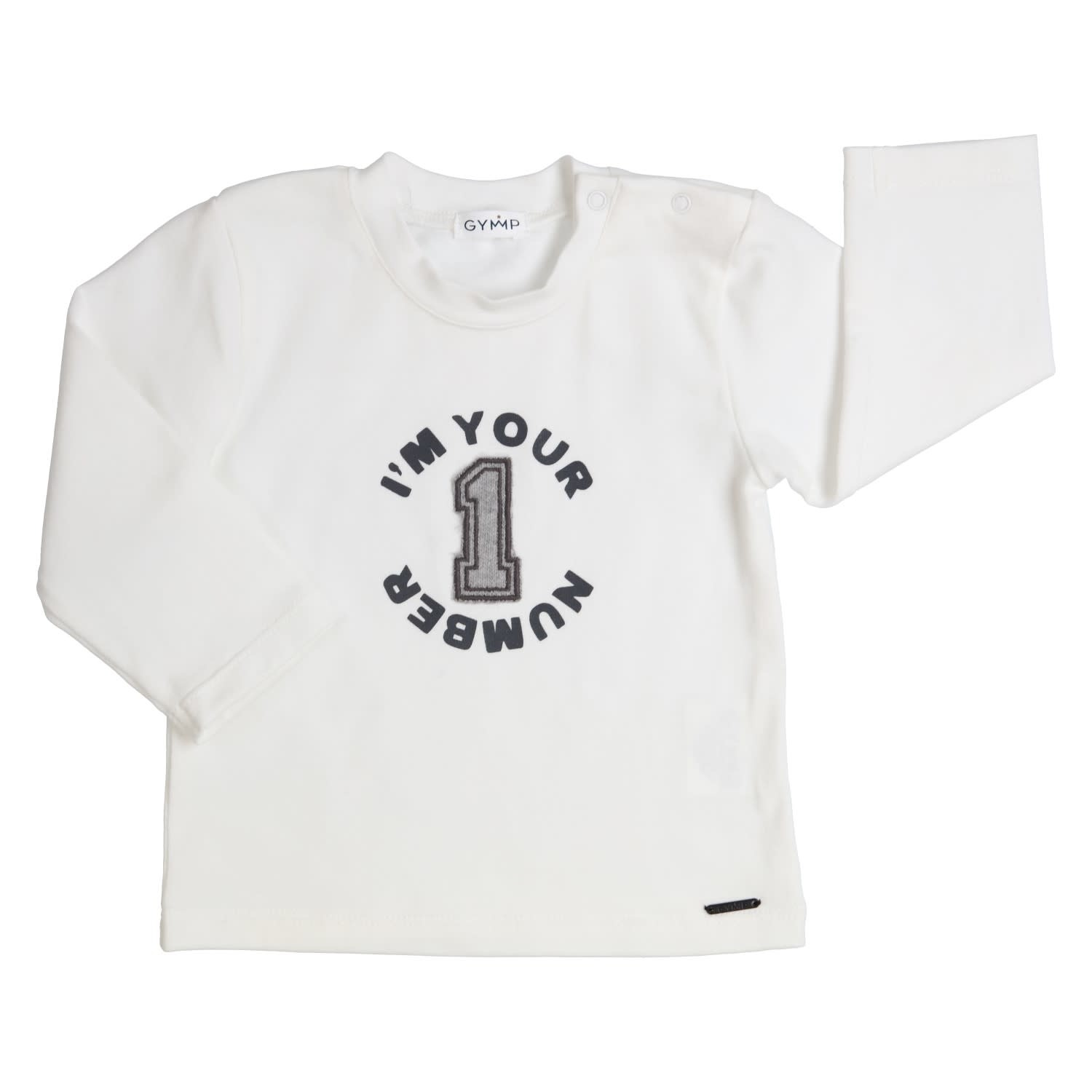 Gymp Number One Tee Off White Long Sleeve