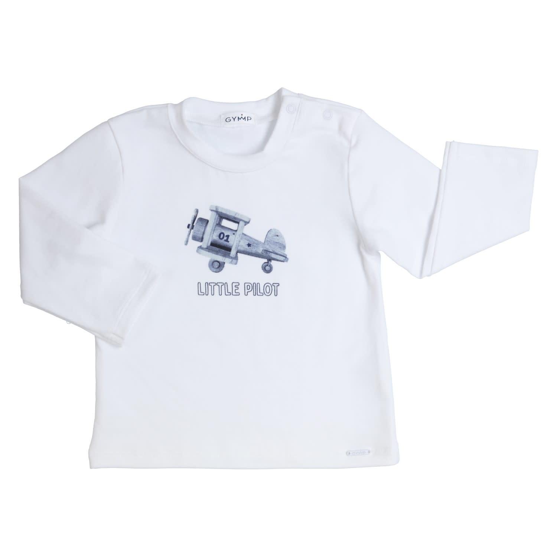 Gymp Little Pilot Tee White