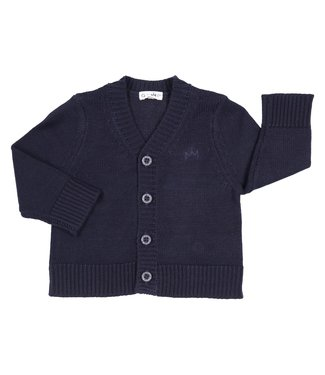 Gymp Knitted Cardigan Blue
