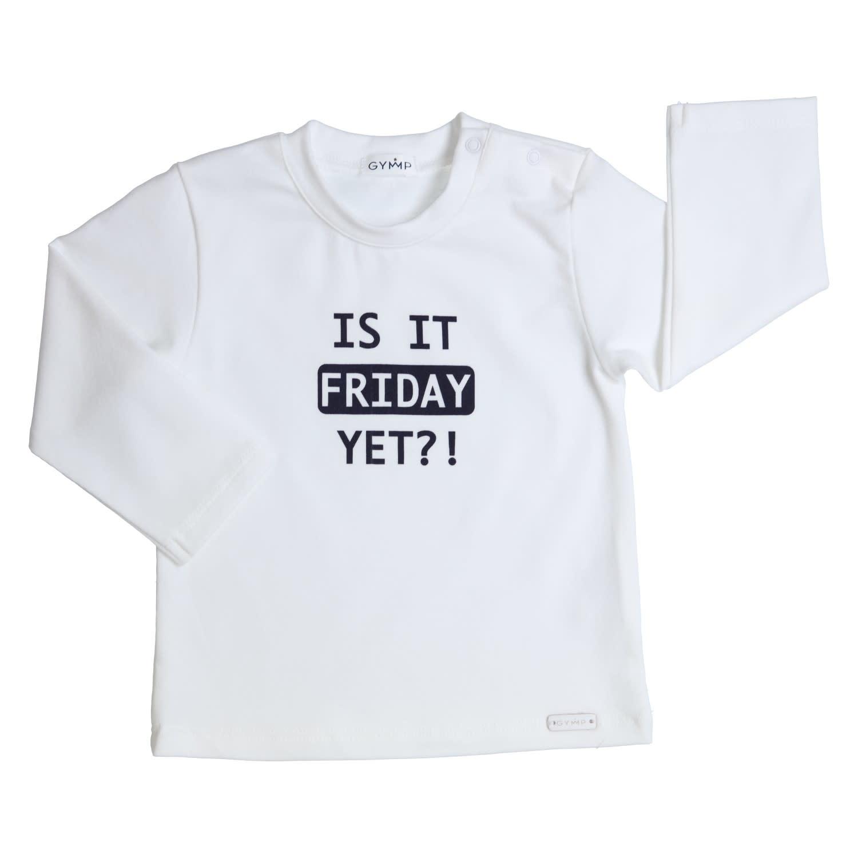 Gymp Friday Tee White