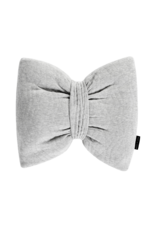 House Of Jamie Decoration Pillow Bow Tie Jaquard Stone