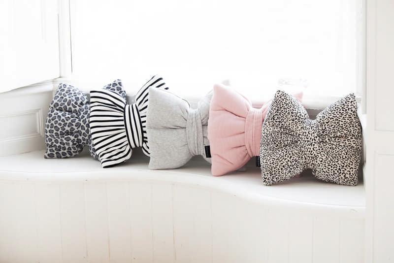 House Of Jamie Decoration Pillow Bow Tie Breton