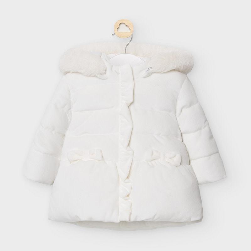 Mayoral Coat Crudo